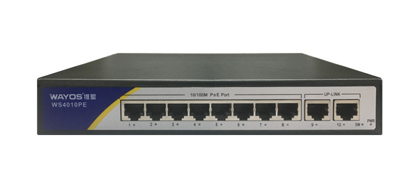 WS-4010PE10口非管理POE交换机