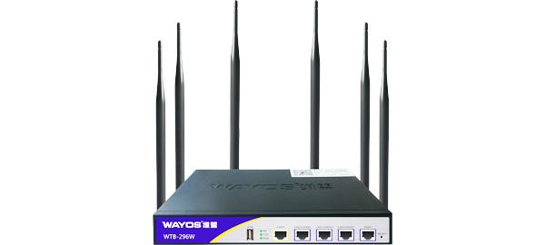 WTB-296W四WAN千兆行为管理路由器
